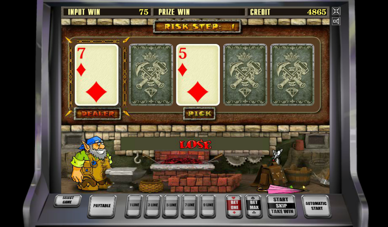 игровой слот гномы интернет-казино