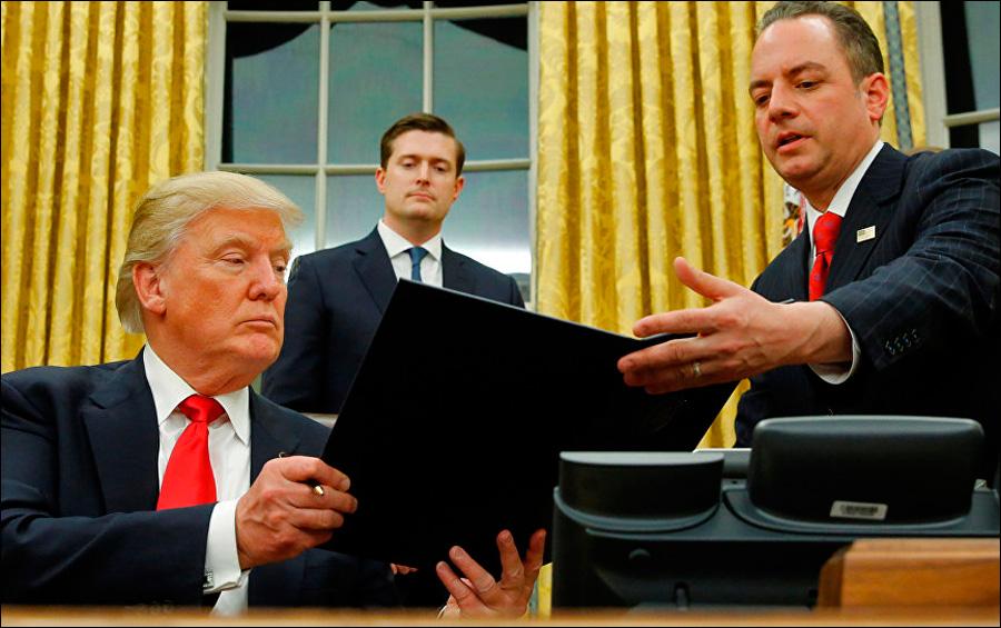 """Трамп подготовил указ об отмене антироссийских санкций"" ..."