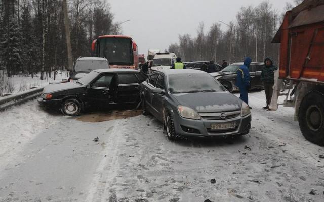 Под Владимиром вДТП пострадал восьмилетний ребенок