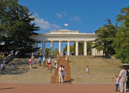 Руководитель  Севастополя представил Кириенко стратегию развития города до 2030г