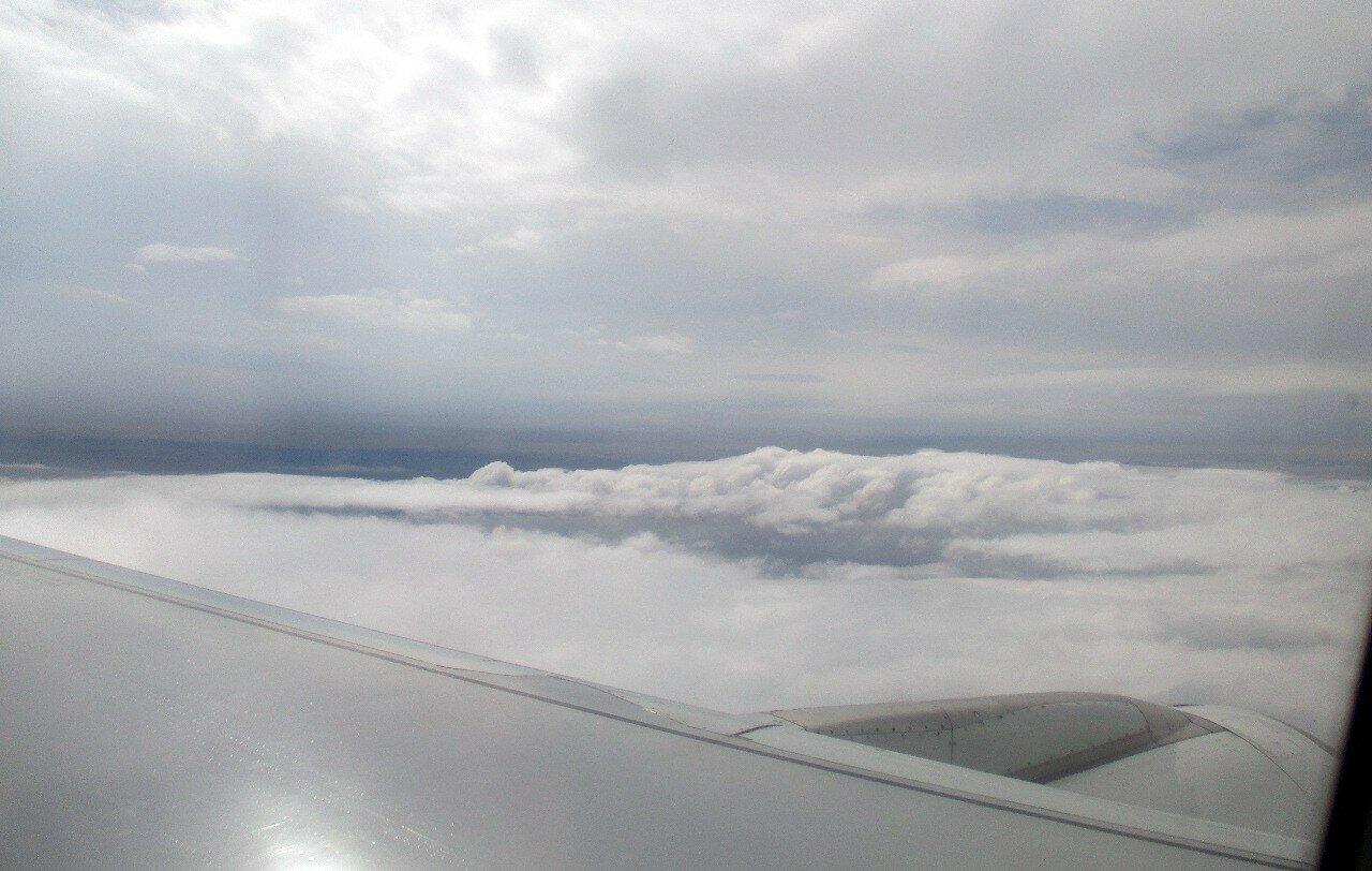 Екатеринбург-Стамбул. Над облаками