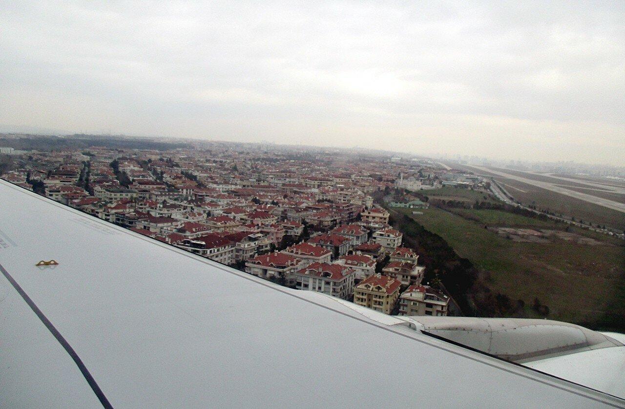 Boarding at Ataturk airport