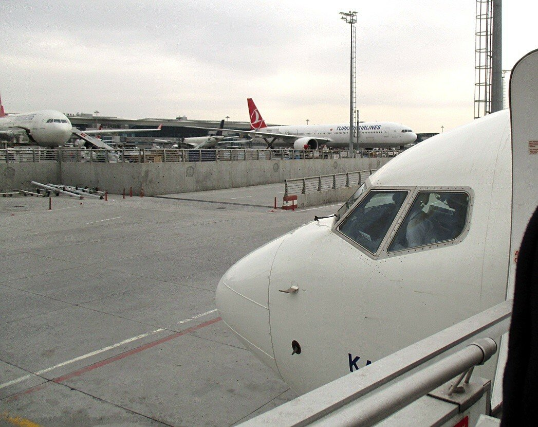 Перелет Стамбул-Мадрид. Аэропорт имени Ататюрка