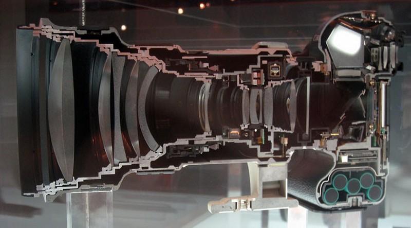 10. Цифровая фотокамера и объектив ( clickblog.it )
