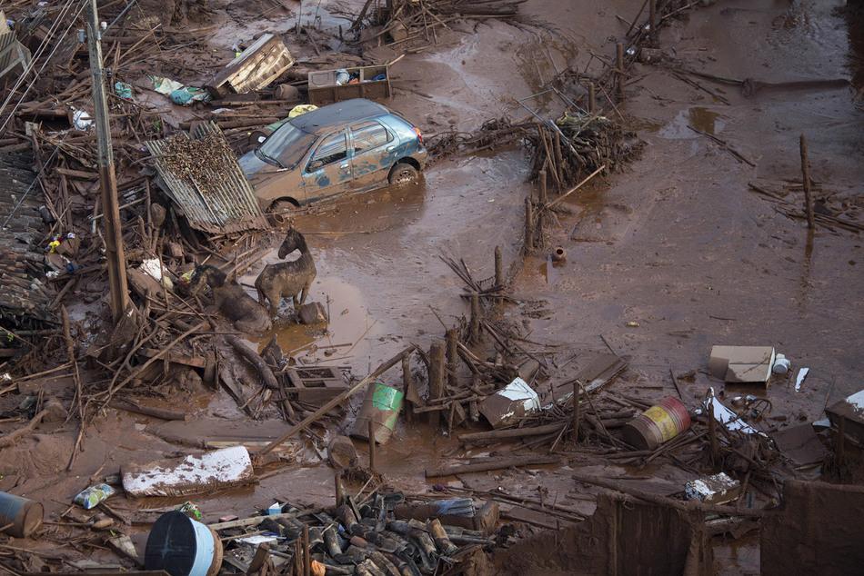17. Жители прибирают свои дома после случившегося.
