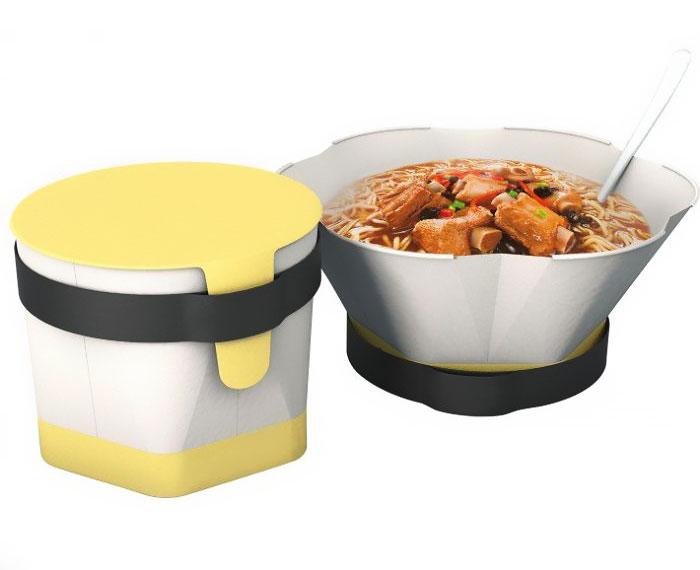 Упаковка лапши быстрого приготовления от Cao Weizhi&Ding Jian&Chen Yuru.
