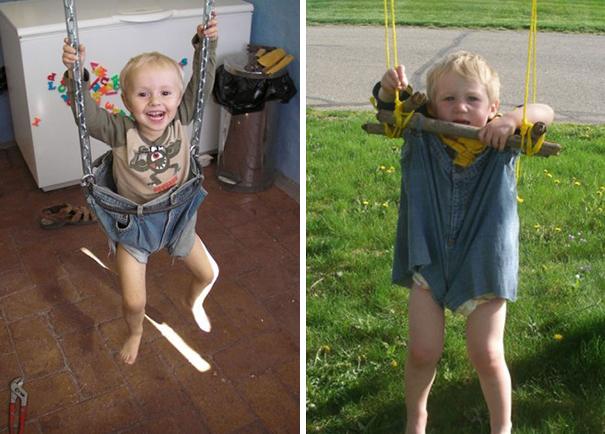 Детские фотосессии: ожидания против суровой реальности
