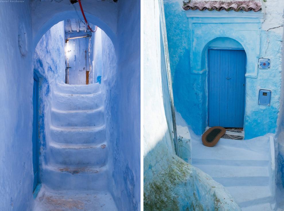 Как позже оказалось, Шефшауэн — один из самых чистых городов Марокко . Но город уже сильно испо