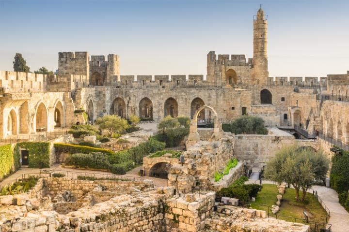 Старый город, Иерусалим, Израиль. Под угрозой с 1982 года.