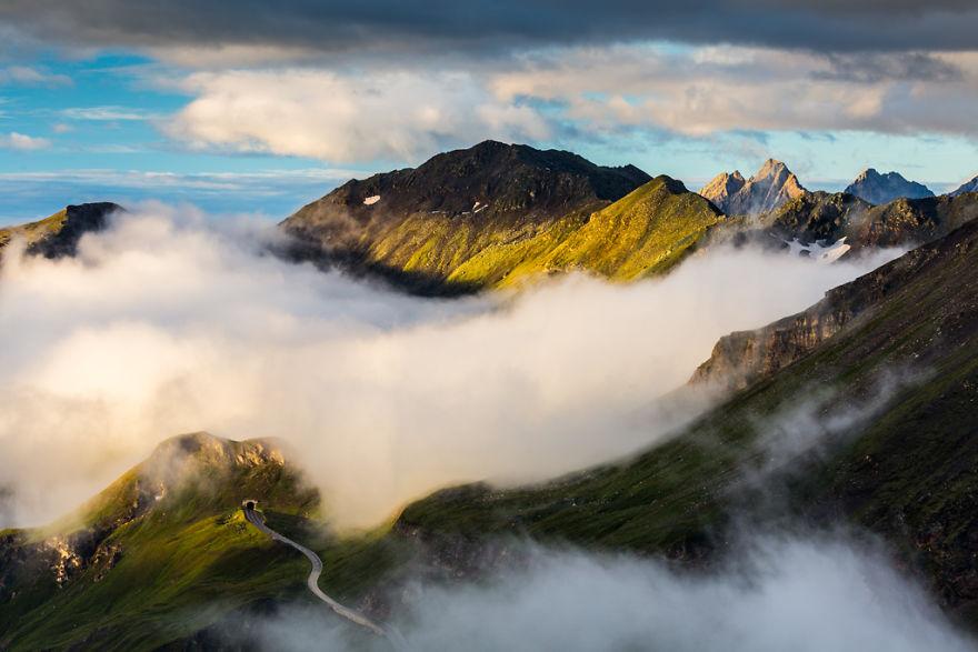 Гроссглокнер — самая красивая высокогорная дорога в мире