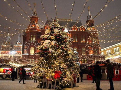 Неменее 7-ми млн. человек посетили зимние фестивали в российской столице