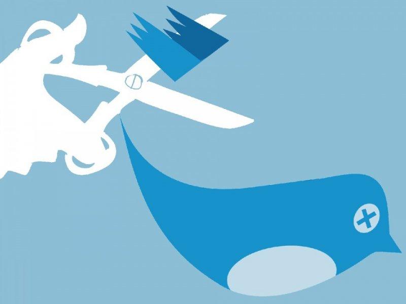 Твиттер увеличивает борьбу соскорблениями