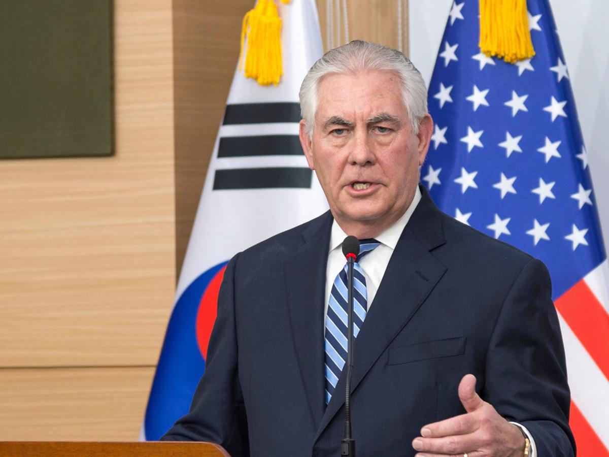 Госсекретарь США поведал опланах Трампа укрепить отношения сКитаем