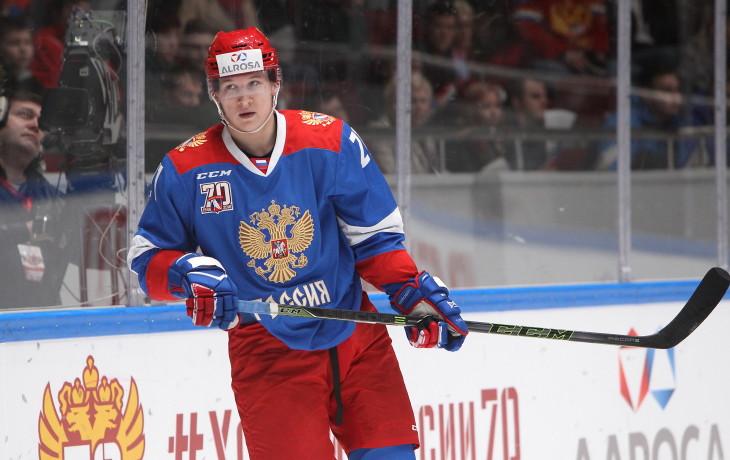 Русские хоккеисты разгромили норвежцев вматче Кубка «Алроса»