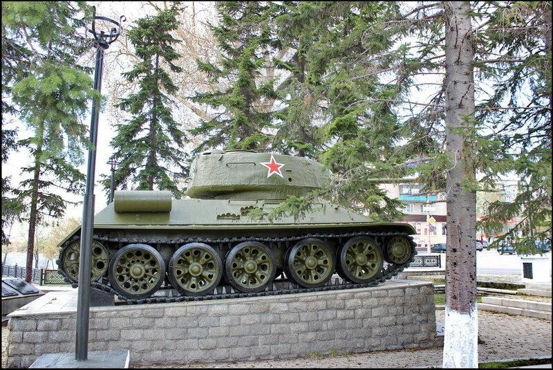 Кыштым 3100 Танк Т-34