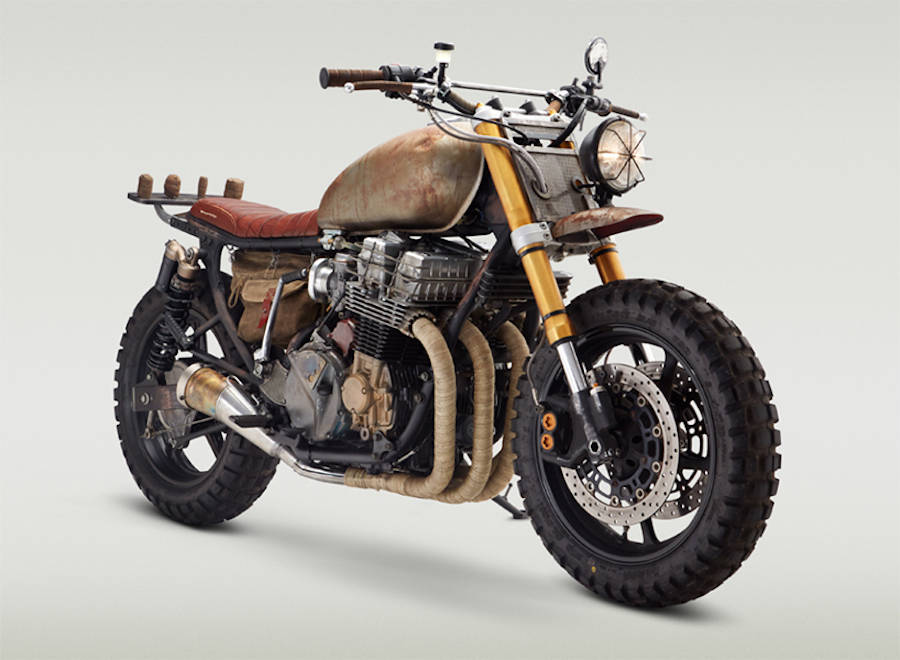 The Walking Dead Designed Motorbike