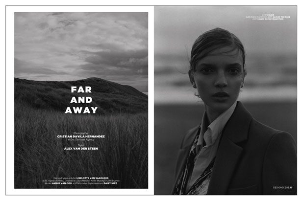 Far & Away with Hanne van Ooij for Design SCENE Magazine #13 Issue