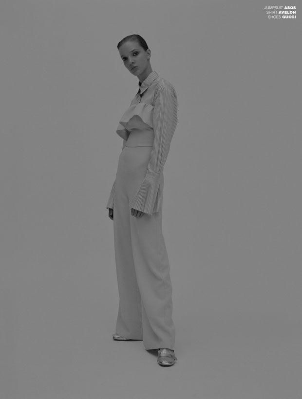 Photographer Cristian Davila Hernandez at Eric Elenbaas Agency Stylist Alex van der Steen Hair and M