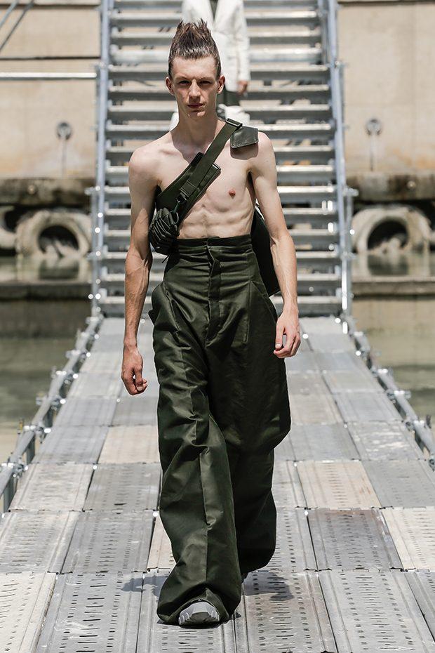 #PFW: RICK OWENS MEN'S Spring Summer 2018 Collection
