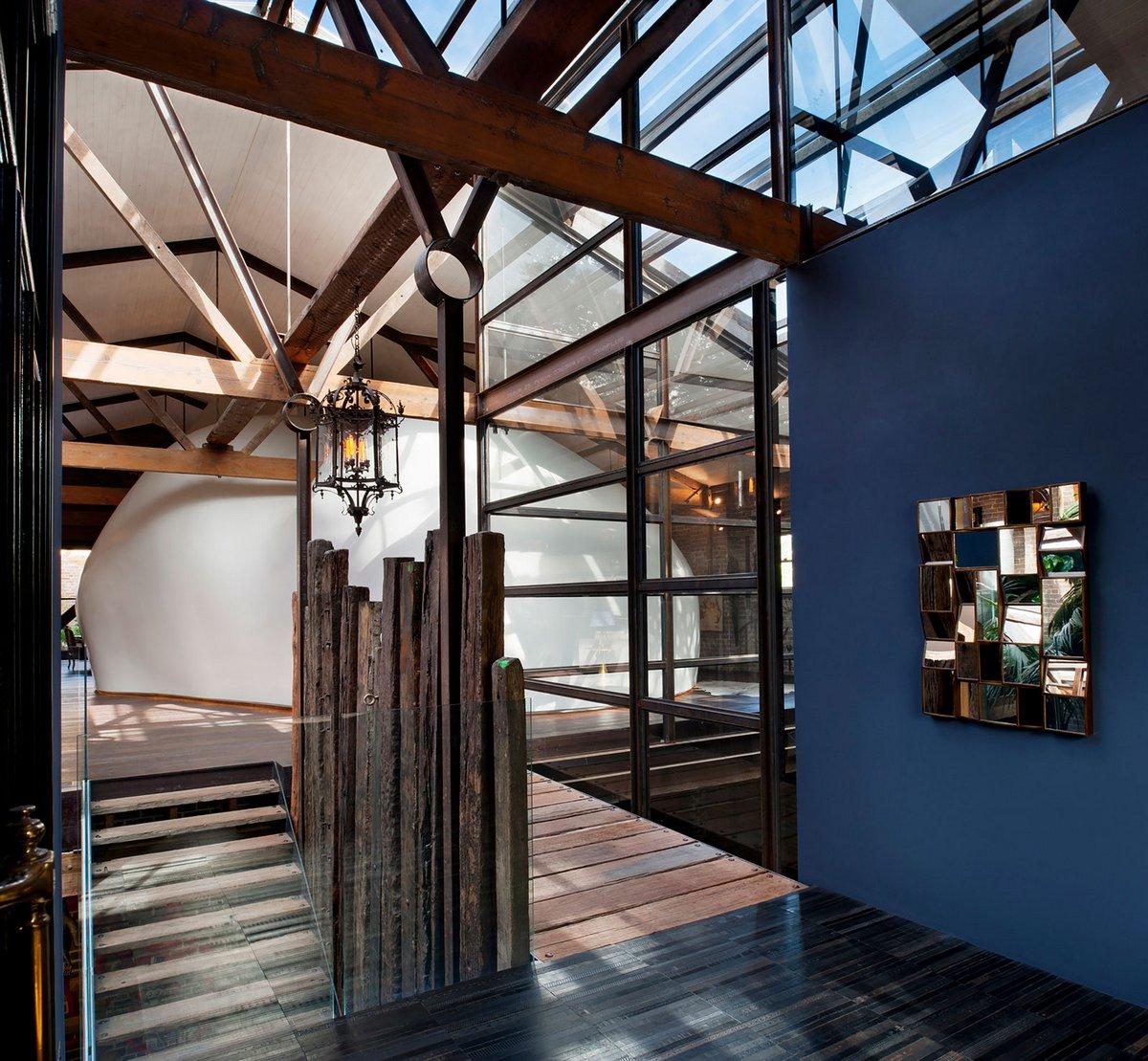 Жилой дом в здании промышленного склада в Сиднее