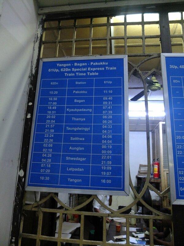 схема поезда на английском языке