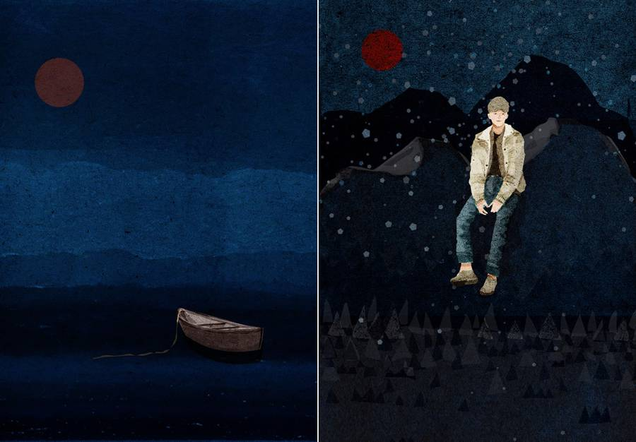 Poetic Illustrations of a Night