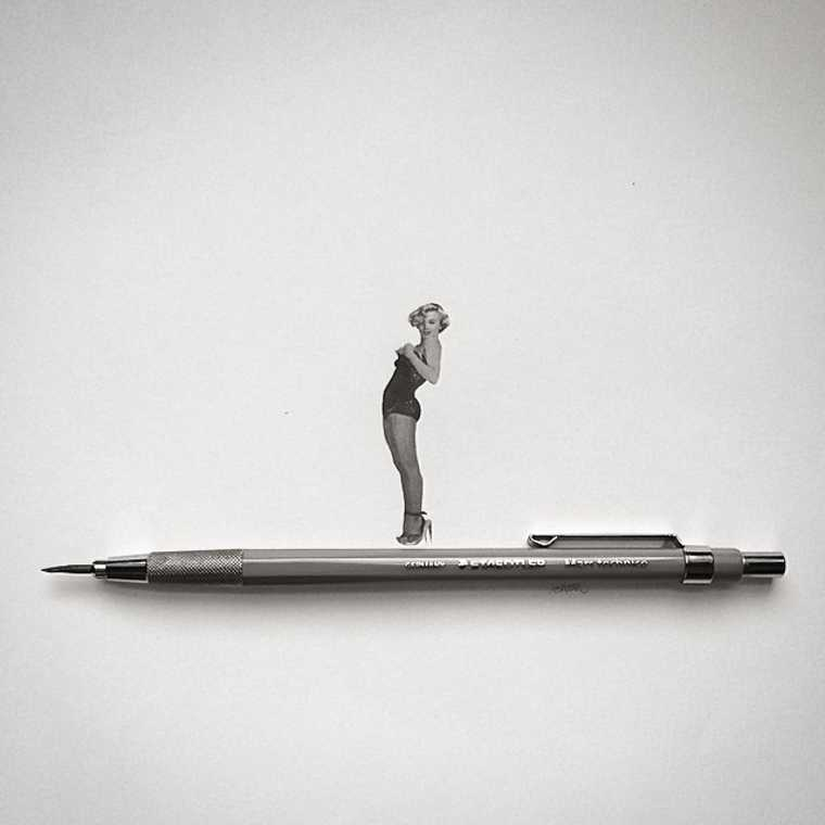 Les illustrations miniatures d'Ashish Patel