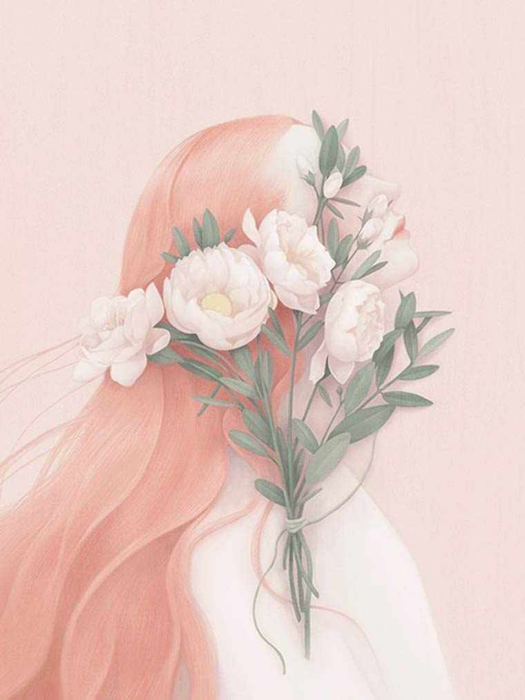 Soft Pink - Les creations de Hsiao Ron Cheng