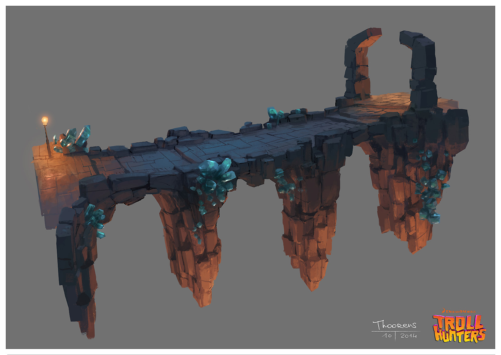 Trollhunters Concept Art by Geoffroy Thoorens