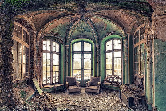 Abandoned Buildings by Matthias Haker (39 pics)