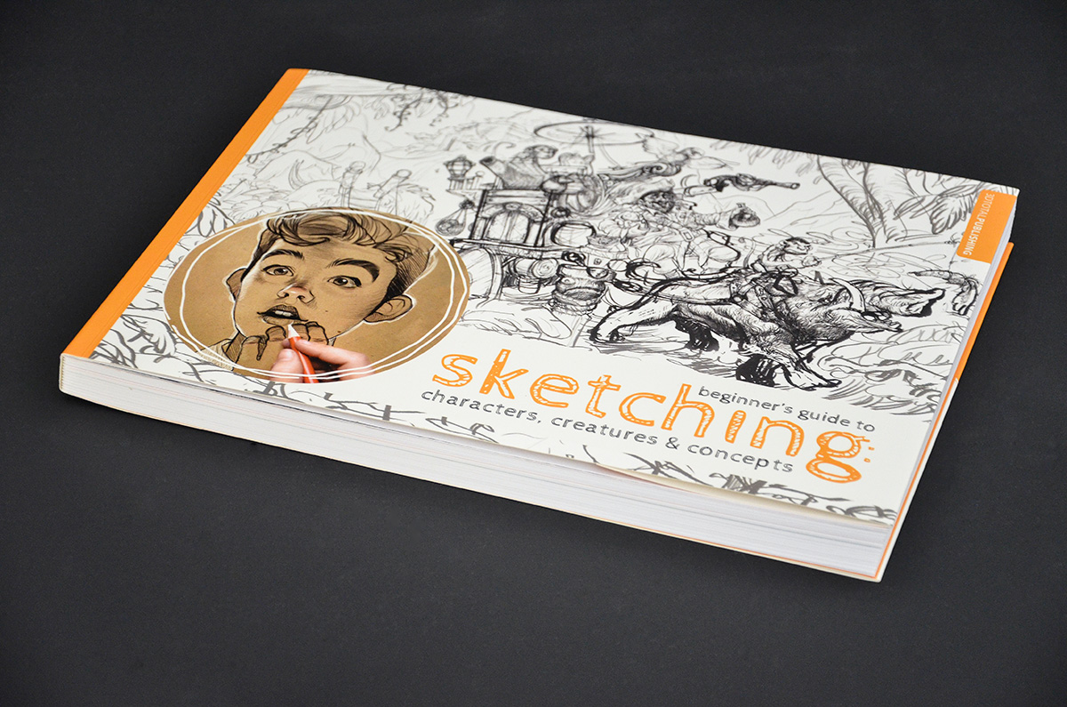 Beginner's Guide to Sketching: Characters, Creatures and Concepts (9 pics)