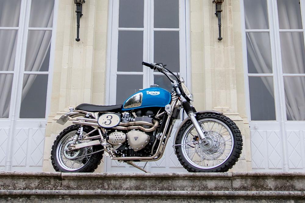 FCR Original: скрэмблер Triumph Bonneville