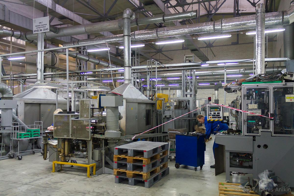Bosch Энгельс производство свечей зажигания фото 13