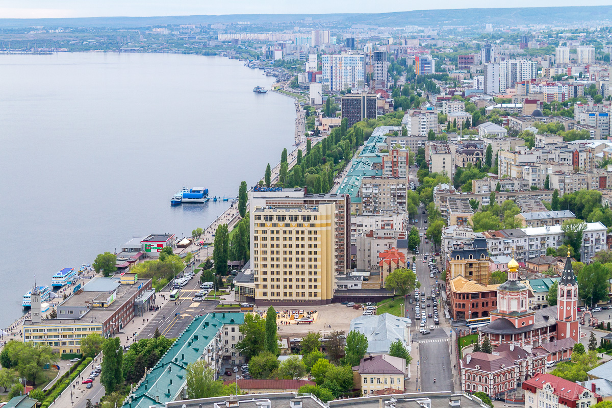 Вид на Саратов с Volga Sky фото 7