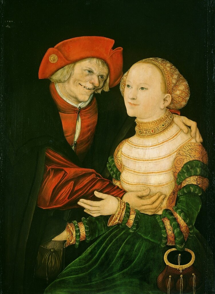 Куртизанка и старик (Courtesan and old man)_1522_84.5 х 63_д.,м._Будапешт, Музей изобразительных искусств.jpg