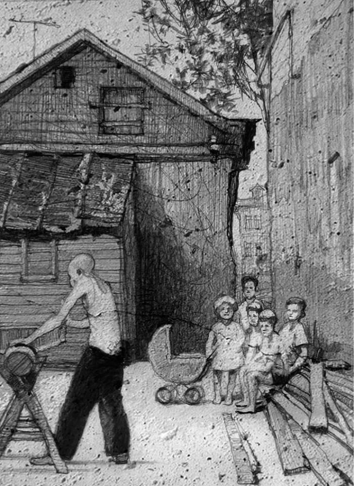Иллюстрации Кирилла Челушкина к книге Король с Арбата В. Чачина3.jpg
