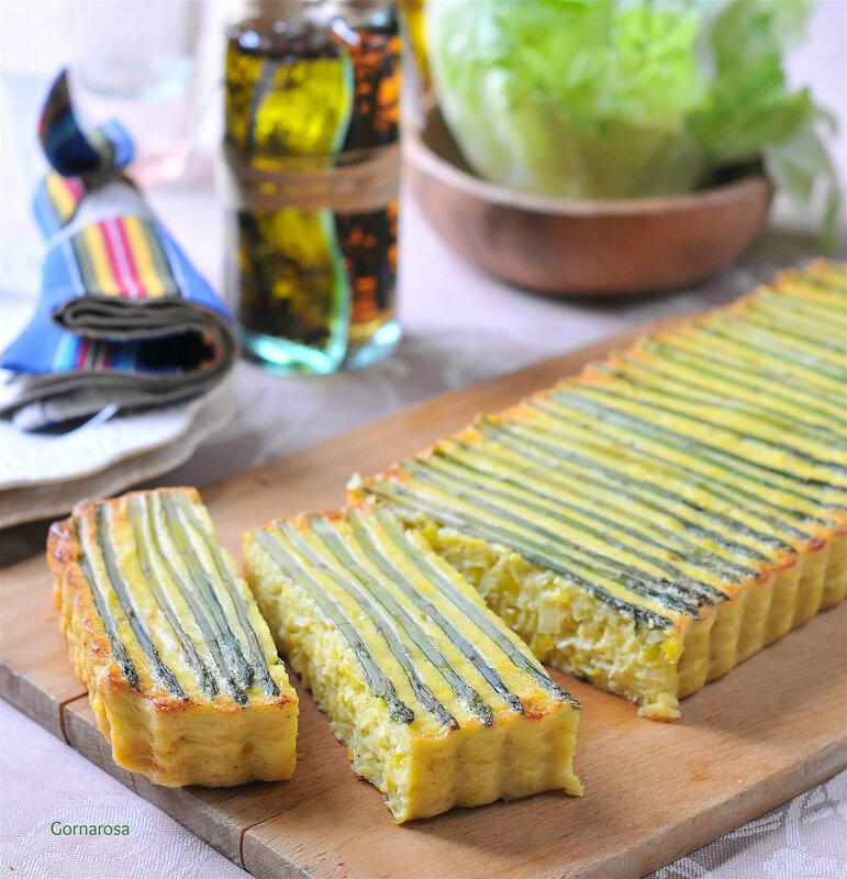Киш с луком-пореем и спаржей - не постное, но бесЦОвестно вкусТное!!! Хранцузская кухня, однако!))