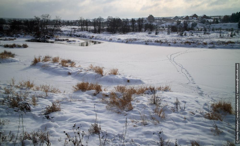 река Утка в селе Слобода