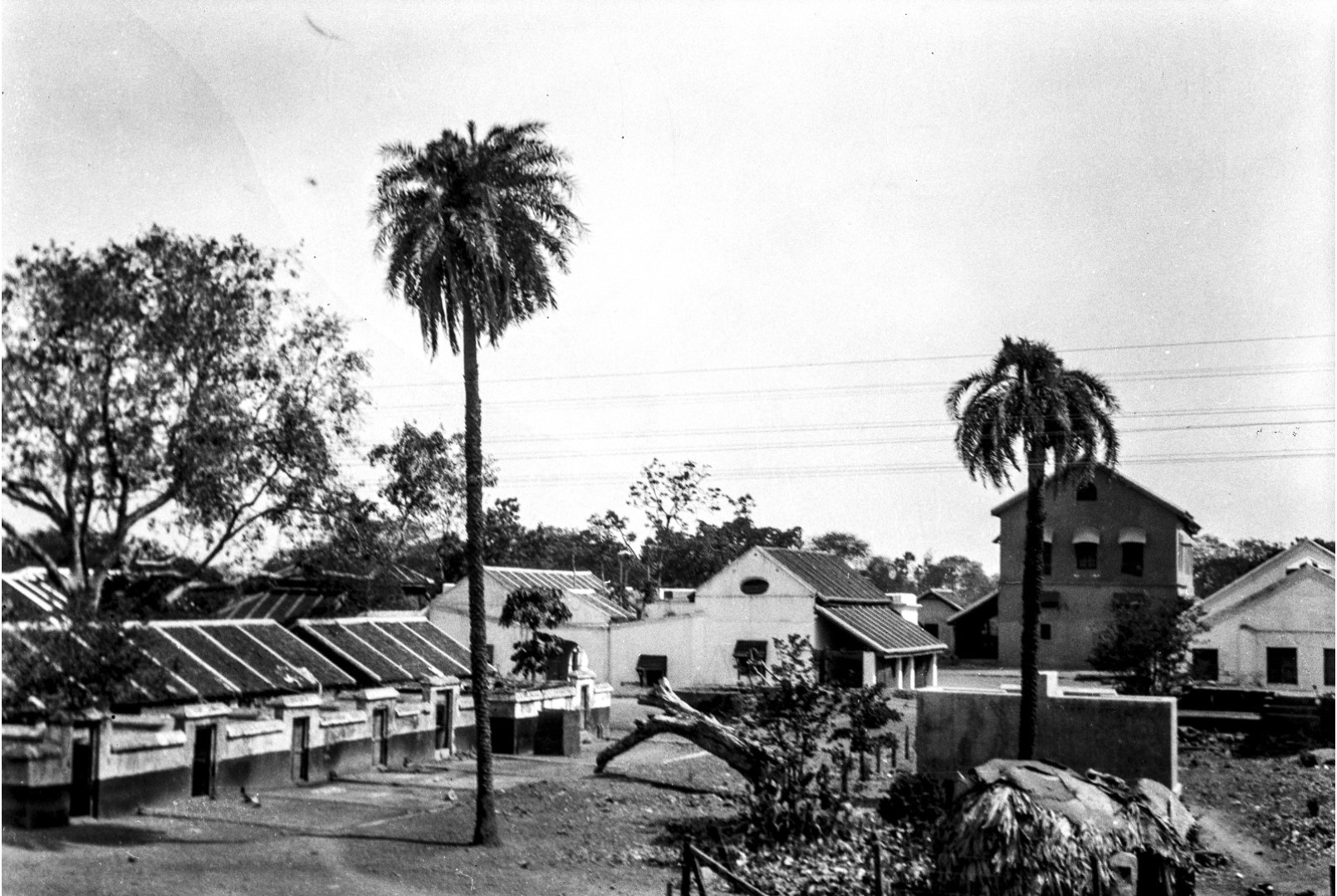 479. Мадрас. Вид домов с железной дороги