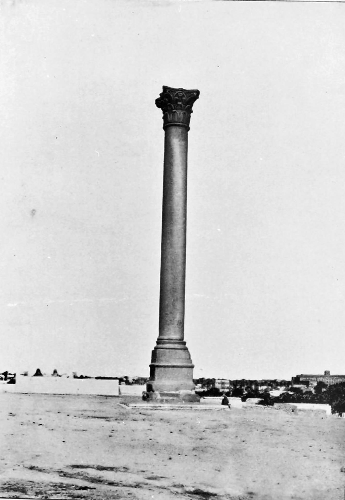 Александрия. Колонна Помпея