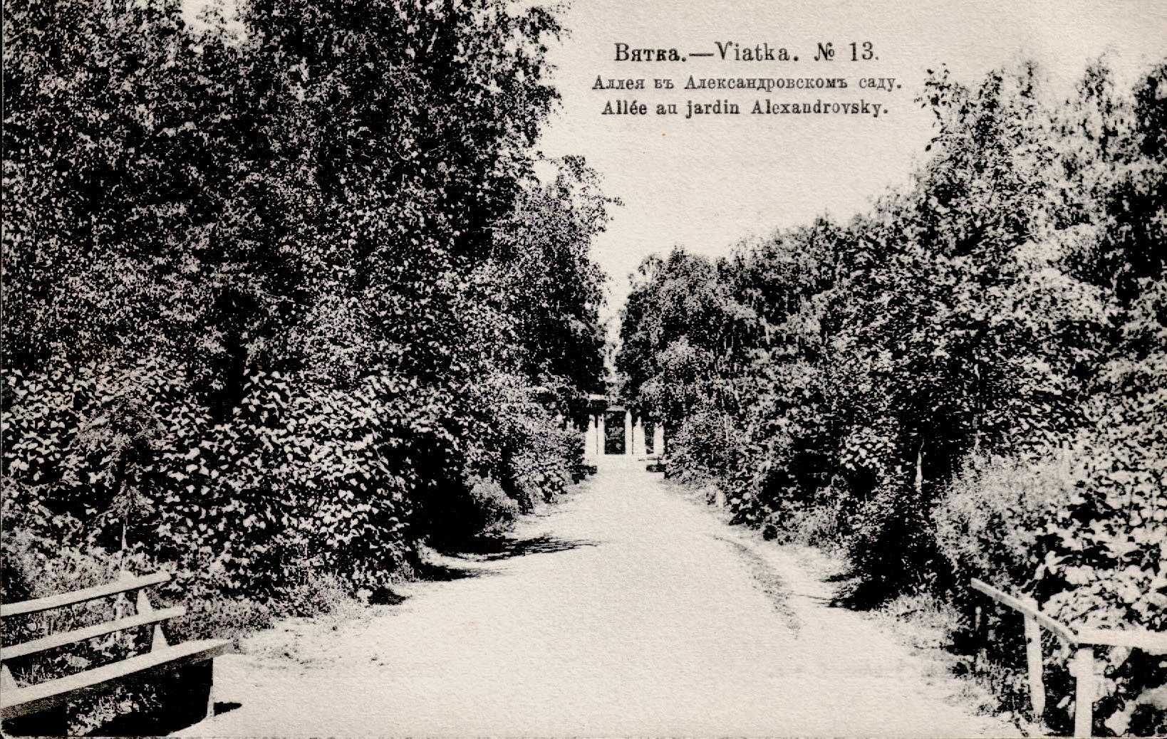 Александровский сад. Аллея