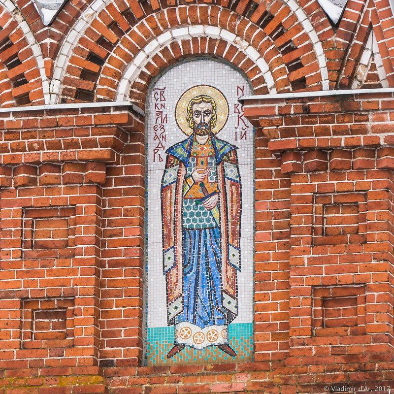 Церковь Воздвижения Креста Господня в селе Дарна