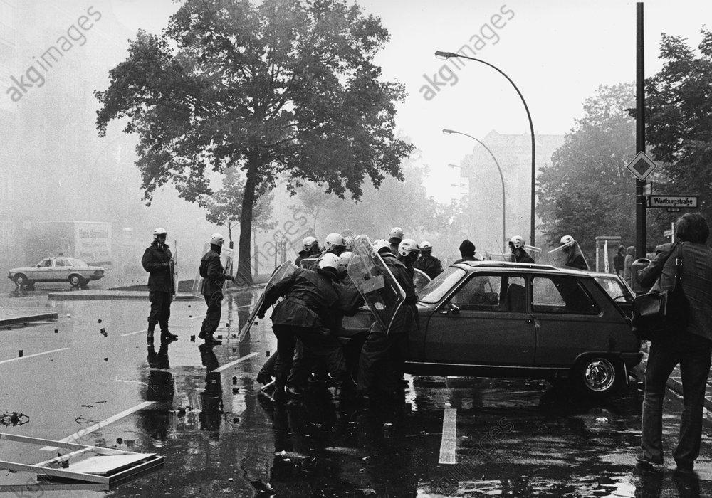 Hausbesetzer-Demo am 25.6.1981 - -