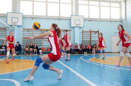 Спартакиада школьников. волейбол. Соревнования в школе №31