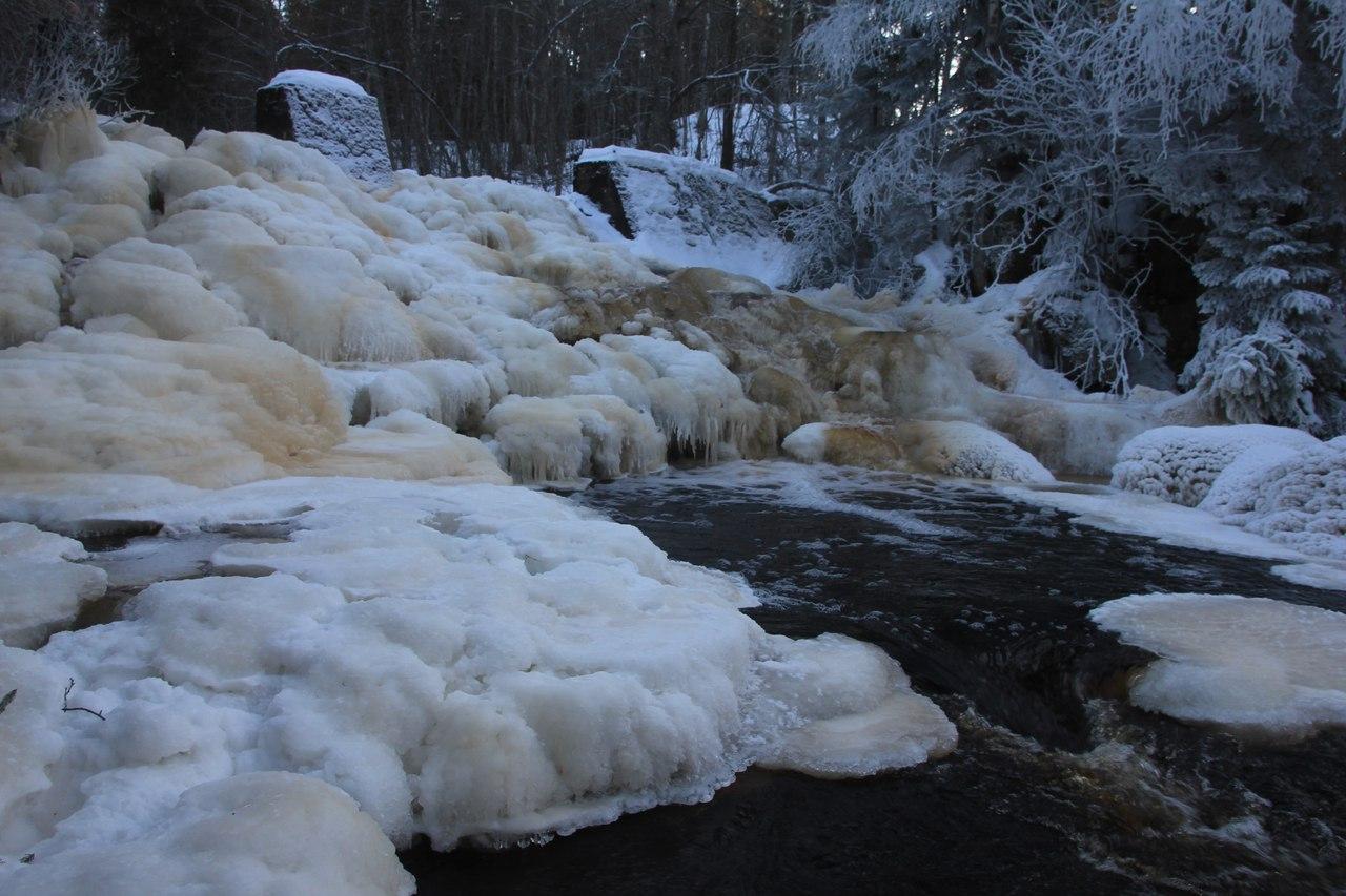 alexbelykh.ru, финская плотина, водопад 9 мая, водопады карелии