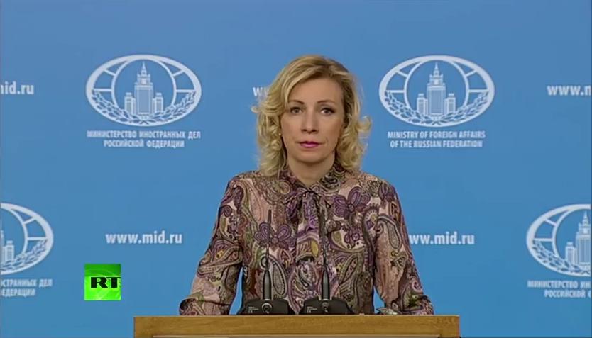 Мария Захарова: События в Одессе – это когда людей заживо сожгли