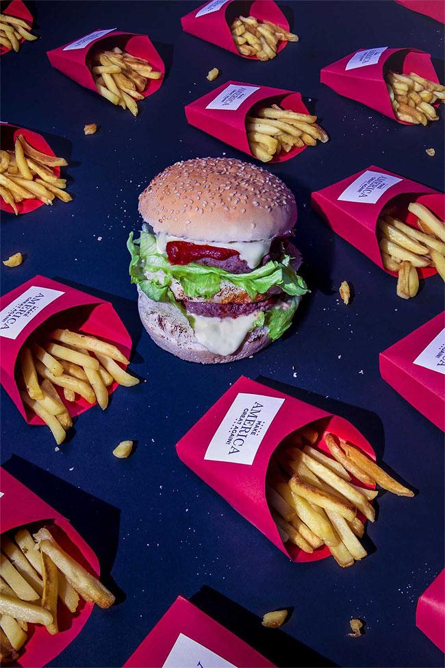 Любимая еда Дональда Трампа и других сильных мира сего в фотопроекте Дэна Баннино (9 фото)