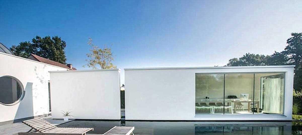 13. Модульный дом может сочетаться с другими компонентами с целью максимизации пространства и лучшей