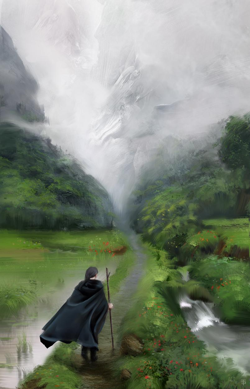 Сквозь цифровой туман: Турхан Алджан (8 фото)