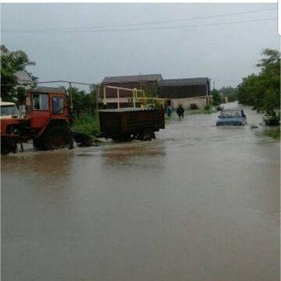 НаСтаврополье подтоплены два населенных пунктах из-за сильных дождей